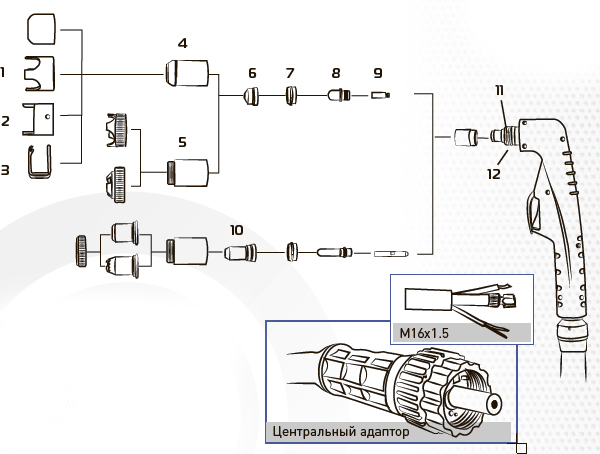 Инверторный плазменный резак LT101